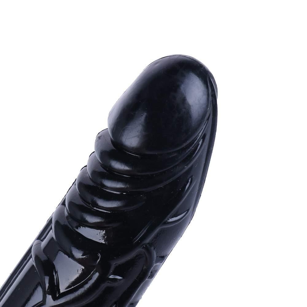 Black Masturbation Silicone Dildo For Sex Machine Accessories