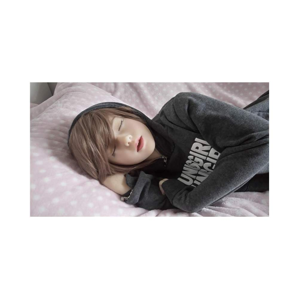 SINLOLI Dora Asian Natural Skin Color Ultra realistic lovely silicone doll - 165cm