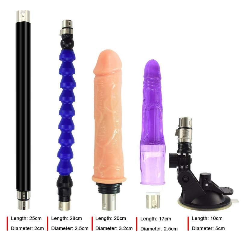 Hismith Upgrade Sex Machines Working with Jelly Realistic Dildo