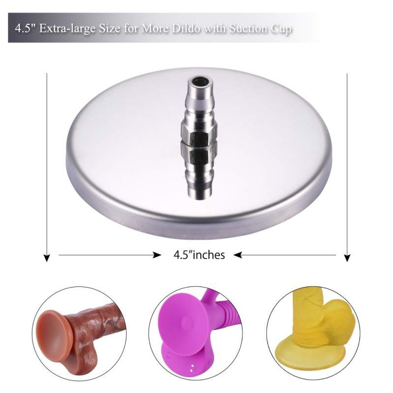 Hismith Suction Cup Adapter For Premium Sex Machine With Quick Air Connector