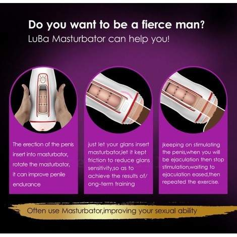 Adult Sex Toy For Men Automatic Piston Masturbator Pussy Cup Male masturbation