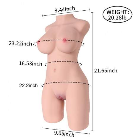 SINLOLI Sexy & Beautiful Virgin Sex Doll,Realistic Vagina, Pink Labia,Sexual posture adjustable Male Masturbation Vaginal Toys