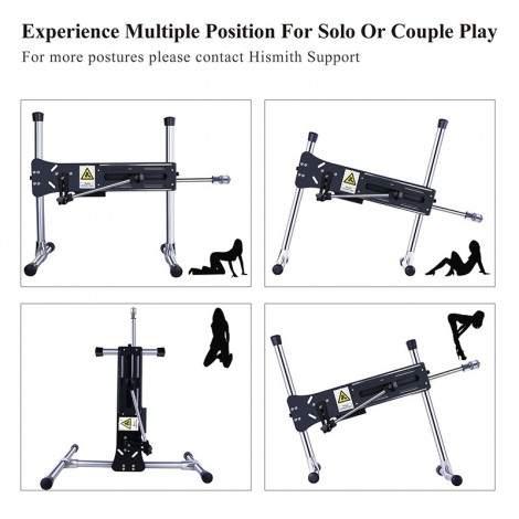 Hismith Premium Sex Machine,Wire-controlled Love Machine With Bundle Attachments - G