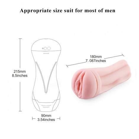 Hismith Male Masturbation Cup For Premium Sex Machine Device, Pocket Pussy Sex Machine Attachements