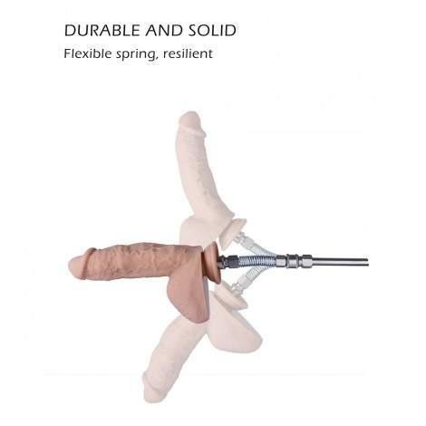 Hismith Sex Machine Spring Attachment - KlicLok System