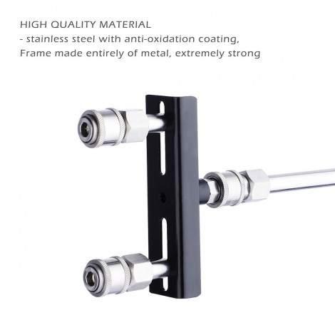 Hismith Sex Machine Attachment, Double Quick Connector Adapter For Premium Sex Love Machine