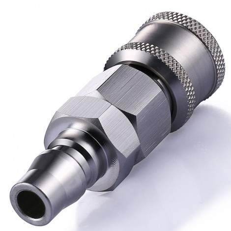 Hismith Quick Air Adapter, Convert To KlicLok System, All-Metal Self-Lock Adapter
