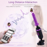 Hismith Capsule - Hand-Held Premium Sex Machine With KlicLok System - App Control Mini Sex Machine With Traveling Bag